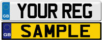GB NUMBER PLATES FRONT & REAR CHEAPEST ON EBAY WITH FREE POSTAGE