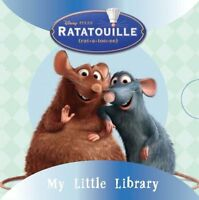 Disney Ratatouille Collection My Little Pocket Library 6 Books set Early Reading