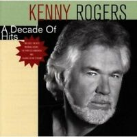 KENNY ROGERS - A DECADE OF HITS CD POP 10 TRACKS NEW