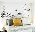 Butterflies Tree Wall Decal a contemporary way to complement any interior design