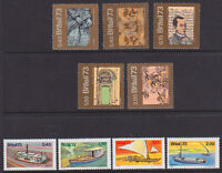 BRAZIL #1315//1325 MINT NEVER HINGED, 2 DIFFERENT SETS!, CV$40.30 -- CM57