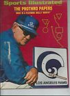 SPORTS ILLUSTRATED 1972 LOS ANGELES RAMS PROTHRO PAPERS PLAYBOOK LOT 751