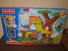 NEW Fisher Price Little People Animal Sounds Zoo Talkers Tree Set Animals Box