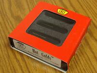 NEW Lace Sensor Hot Gold Strat PICKUP SET 3 PICKUPS BLK Black for Fender