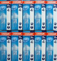 10x Osram Stiftsockellampe G4 12V Halostar OVP 64415s 64425s Stiftsockellampen