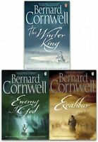 Bernard Cornwell The Warlord Chronicles Collection 3 Books Set Excalibur New