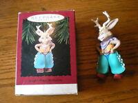 Hallmark Keepsake Ornament NIB Jump Along Jackalope 1994