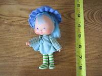 Vintage Strawberry Shortcake Dolls Doll Blueberry Muffin Friend hat nice toy set