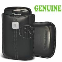 GENUINE BLACKBERRY HDW-19862-001 LEATHER POUCH POCKET CASE FOR 9700 9780 BOLD