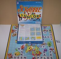 """1999 MB Scrabble """"Junior"""" Your Child's First Crossword Game (d)"""