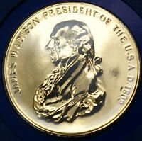 "James Madison Presidential Medal, From the ""Hail to The Chiefs"" Collection"