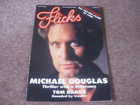 FLICKS Movie Magazine Jan 1990  Michael Douglas Tom Hanks HOUNDED BY TROUBLE