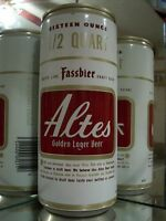 16 OZ ALTES DRAFT LAGER  FORGED DRAWN STEEL NATIONAL OLD BEER CAN  E 138-8