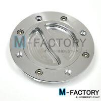 Silver CNC Fuel Gas Cap Suzuki 8bolts GSX-R600 R750 R1000 1997-2001 98 99 00