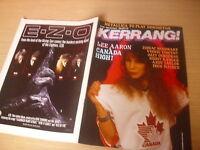 KERRANG  Great Classic Rock / Heavy Metal magazine   #145