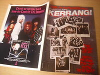 KERRANG  Great Classic Rock / Heavy Metal magazine CLASS of 1987  #136