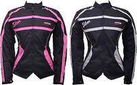 Ladies Women Motorbike Motorcycle Textile Cordura Waterproof Jacket