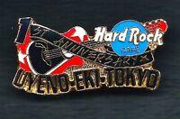 Hard Rock Cafe UYENO-EKI-TOKYO 1ST Anniversary. Pin (Ann.*)