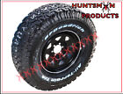 """16"""" BLACK STEEL WHEEL FITTED WITH BF GOODRICH A/T 265/75R16L/T TYRE. 265 75 16"""