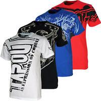 Tapout Herren T-Shirt S M L XL XXL Hardcore Darkside Bolt Felony Corruption neu