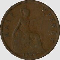 Monnaie Royaume-uni Half penny 1929 bronze  (mc7078)
