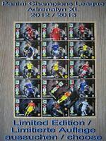 Panini Champions League Adrenalyn XL 2012 2013 12 13 Limited Edition Aussuchen