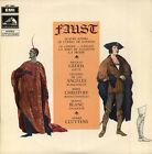 N. GEDDA, DE LOS ANGELES, CHRISTOFF, CLUYTENS, GOUNOD Faust French LP VSM 3567