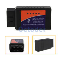 ELM 327 1.5V Interface Bluetooth2.0 OBD2 OBD-II Car Diagnostic Auto Scanner Scan