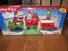 Fisher Price Little People Christmas Train NEW Santa Snowman Reindeer 1998 elf