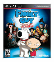 NEW Family Guy: Back to the Multiverse (Sony Playstation 3) NTSC