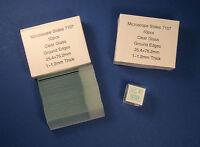Blank Microscope Slides & Glass Cover 100 pcs