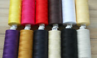 COATS MOON SPUN POLYESTER THREAD- FULL 10 PACK, OR 5 PACK- FREE UK POST