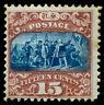 momen: US Stamps #119 Mint OG Weiss Cert Sound