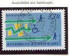 TIMBRE FRANCE OBLITERE N° 2536 HANDICAPES