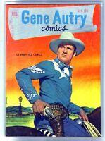 GENE AUTRY #53 Golden Age Dell Comic Book ~ VG