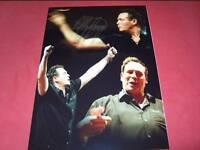 Bobby George Darts Legend genuine signed photo EPS AFTAL