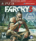 NEW Far Cry 3 (Sony Playstation 3, 2012) NTSC