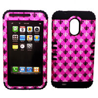 Samsung Galaxy S 2 II Epic Touch 4G D710 Hybrid Cover Saints On Pink Black Case