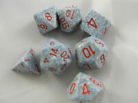 DUNGEONS & DRAGONS D&D Dice Set D&D Air Speckled Roleplaying Game Dice