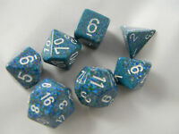 DUNGEONS & DRAGONS D&D Dice Set Sea Speckled Roleplaying Game Dice Set