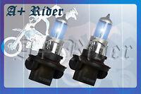 H13/9008 90/100W pair Dual Beam Xenon HID Super White 12V Gas Light Bulbs A2