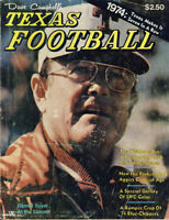 1974 Dave Campbell's Texas Football Magazine