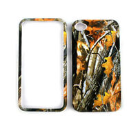 Oak Tree Branch Camo Protector Snap on Hard Cover Case for Apple iPhone 4 4S