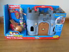 Fisher Price Little People New Box Castle play go playset dragon knight flag set