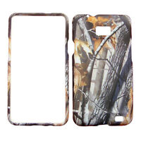 Oak Tree Branch Camo Case Phone Cover for Samsung Galaxy S 2 II AT&T i777 i9100