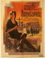 AFFICHE CINEMA : SEDUITE ET ABANDONNEE 1964