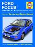 Haynes Manual 3759 Ford Focus 1.4 1.6 1.8 2.0 Zetec Petrol 1.8 Diesel 1998-2001