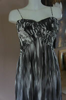 BNWT JS COLLECTIONS PRINT MAXI DRESS IN A CROSSOVER DESIGN IN BLACK & WHITE SZ 8
