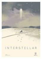 New Movie Poster Print: Interstellar A3 / A4