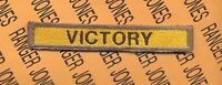 """5th Armored Division """"VICTORY"""" TAB"""